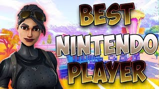 Fortnite Best Nintendo Switch Player 1210+ Wins!! Solos/ 5 Wins in a Row!