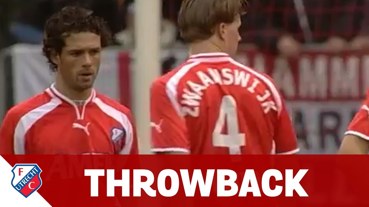 THROWBACK | FC Utrecht - Vitesse (01-02) - YouTube