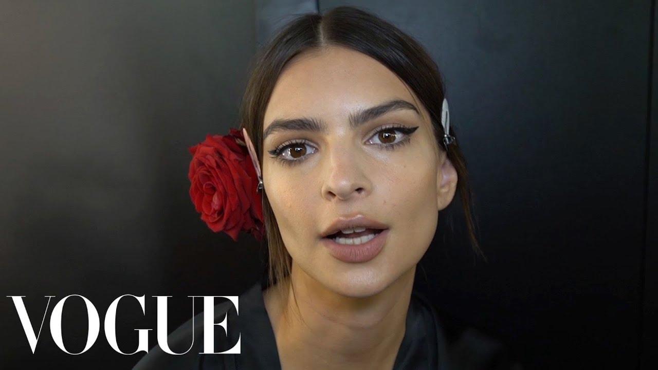 Emily Ratajkowski   Ashley Graham Go Inside Dolce   Gabbana s Spring 2019  Fashion Show   Vogue 0ea38509e6