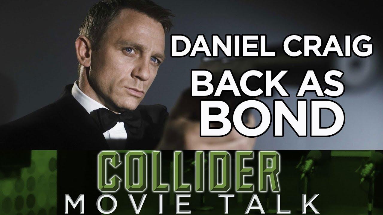 Daniel Craig Confirms His Return as James Bond on The Late Show