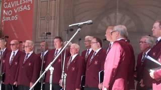 00164  Švercenbahas vīru koris Ārvalstu viesu kolektīvu koncertā Vērmanes dārzā 8.07.2018