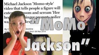 Michael Jackson 39;Momo Style39; Challenge  STOP THIS IT39;S FAKE