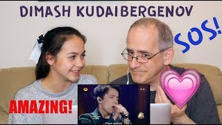 Dimash Kudaibergenov | SOS Of An Earthly Being In Distress | Singer 2017 | REACTION