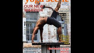 New Zealand Yoga Scene Magazine A Pictorial Glimpse Inside