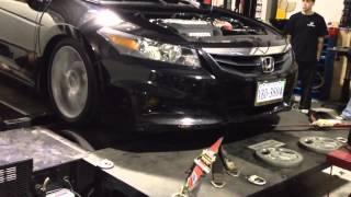 2012 Honda Accord Coupe V6-6 speed dyno run