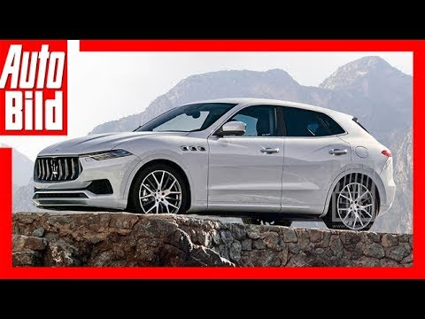Zukunftsaussicht: Maserati SUV (2020) Details/Erklärung ...