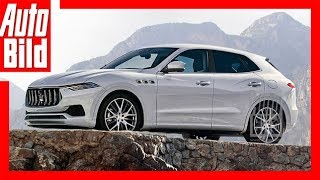 Zukunftsaussicht Maserati SUV (2020) Details/Erklärung