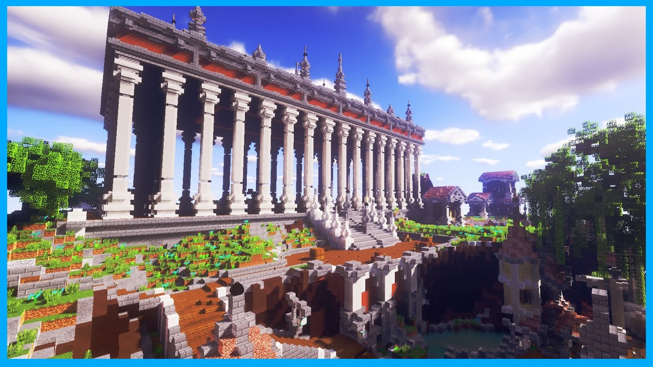 Minecraft thanasys greek city with a huge temple cinematic minecraft thanasys greek city with a huge temple cinematic map download publicscrutiny Gallery