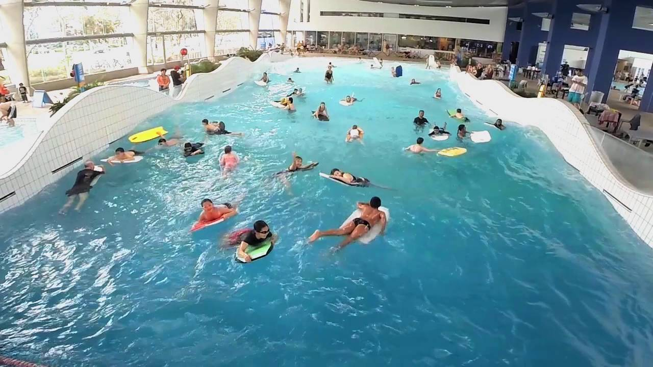Wave Pool At Monash Aquatic Recreation Centre Youtube