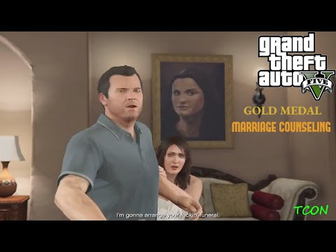 GTA V PC - Mission #6 - Marriage Counseling [100% Gold Medal] [HD]