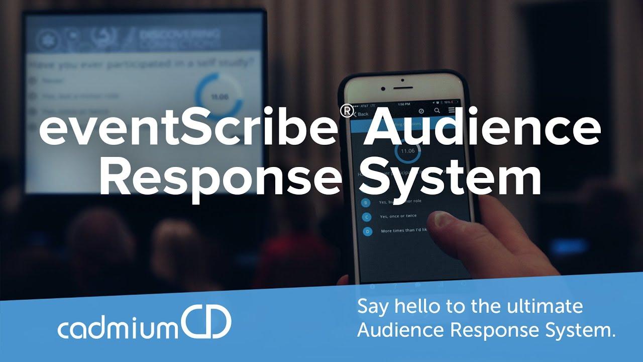 Audience Response Should Be More Social | CadmiumCD