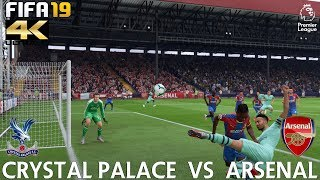 FIFA 19 (PC) Crystal Palace vs Arsenal | PREMIER LEAGUE PREDICTION | 28/10/2018 |4K 60FPS