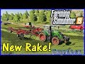 Let's Play Farming Simulator 19 #77: New Rake!