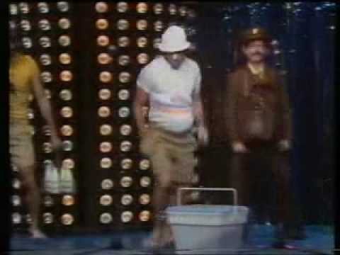 Hoges - Suburban People' - a send up of the 'Village People'. (1981)