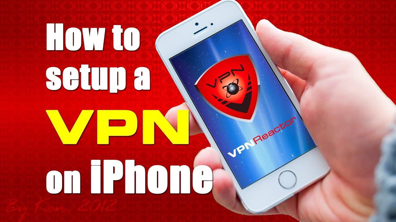 how to change vpn on iphone