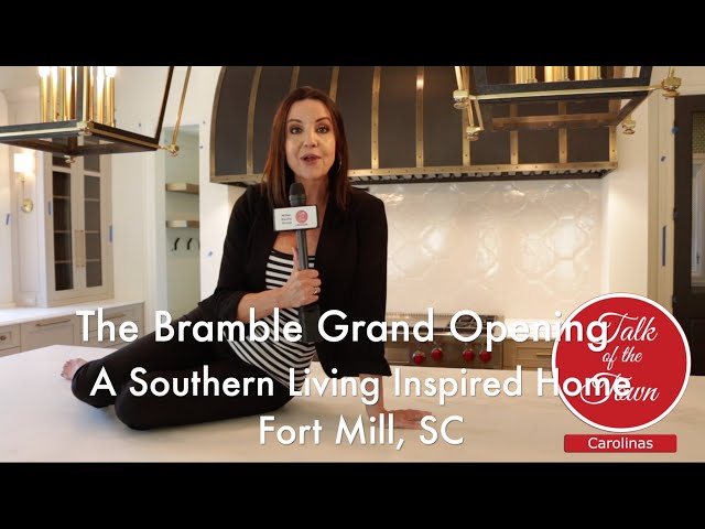The Southern Living Inspired Bramble House In Fort Mill