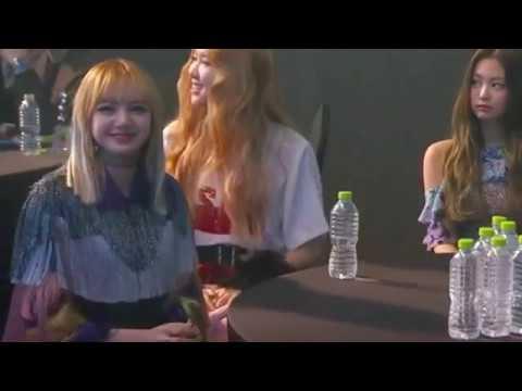 [FMV ] BTS Taehyung react to  Blackpink lisa speech : taetae oppa