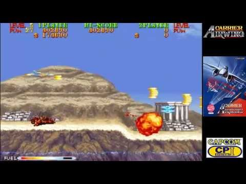Carrier Air Wing || CPS-1 Arcade Capcom || Con un crédito