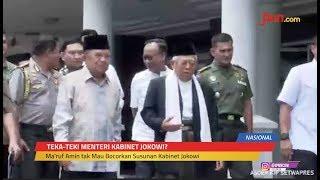 Siapa Menteri Yang Diusulkan Ma'ruf Amin kepada Jokowi? - JPNN.com