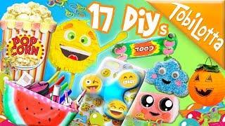 100 min. DIY IDEEN - Handyhülle diy Kwaii Emoji Pinata Basteln Kinder Bastelideen diy halloween