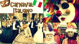 Carnaval italiano: Desfiles de mascaras no carnaval de Ancona- 2016 Vlog #10