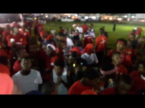 PNM rally was ..WET OUT