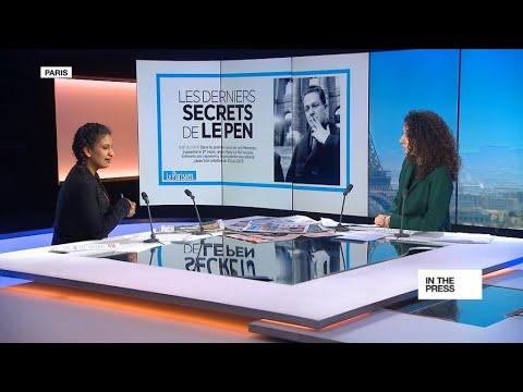 فرانس 24:The secrets of Jean-Marie Le Pen: Far right party founder publishes tell-all