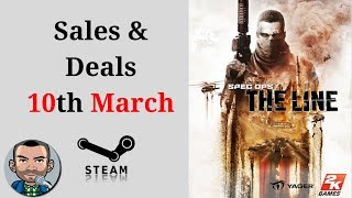 Steam Sales and Deals 10th March | Low Budget Gaming