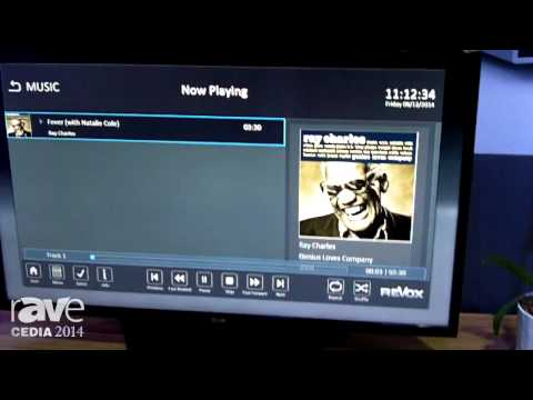 CEDIA 2014: ReVox Shows Off Its Joy Audio Server and ReVox Joy Network Music Player