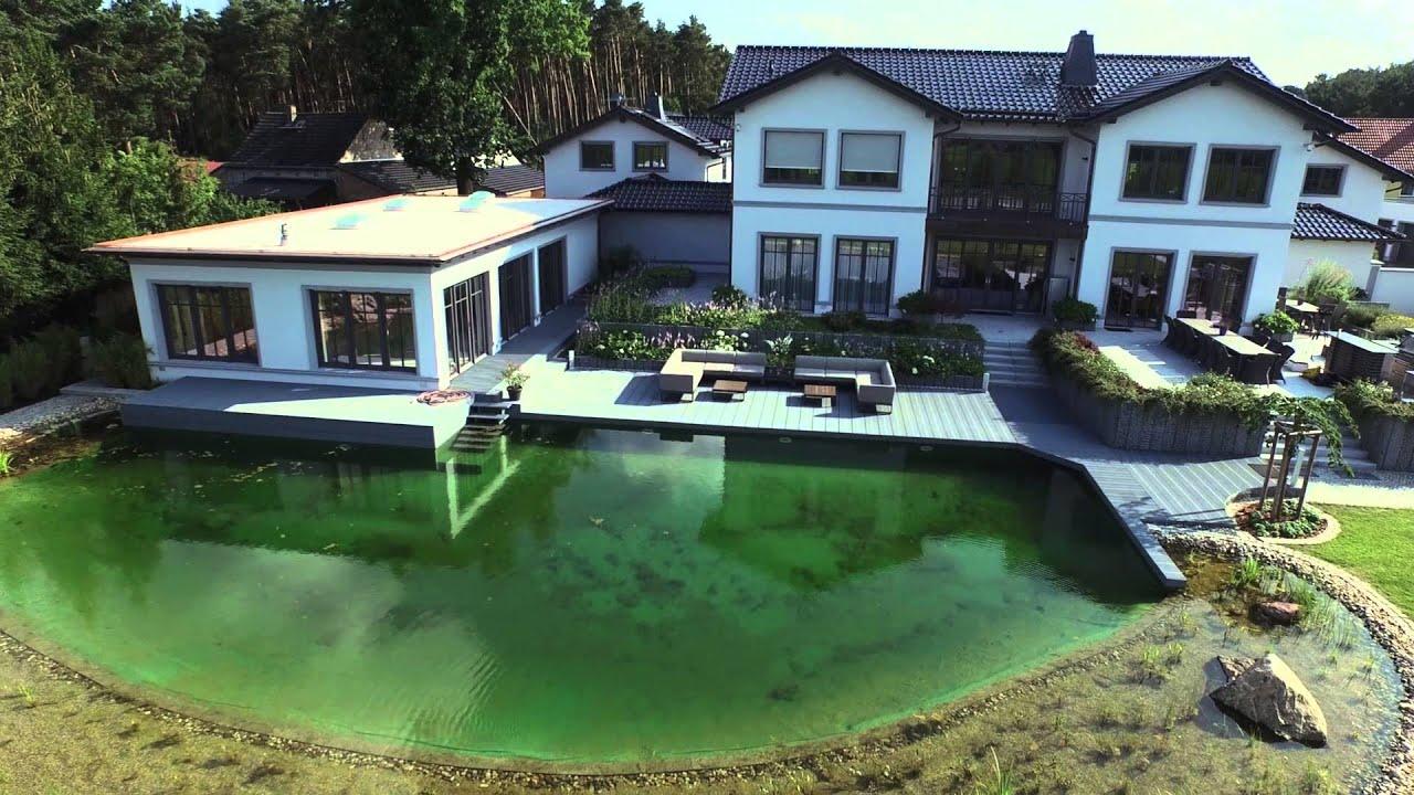 Gartengestaltung schwimmteich hecken beete b ume for Gartengestaltung beete