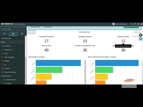 ServiceNow | IT Support Ticketing System Training | Demo