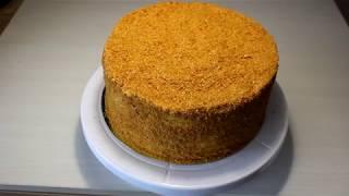 Классический медовик/ Медовый торт со сметанным кремом