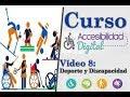 08 Curso Accesibilidad Digital – Deporte y recreación personas con discapacidad