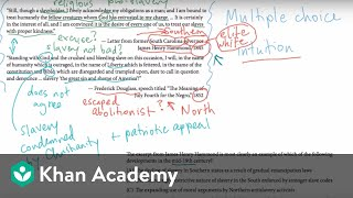 AP US history multiple choice example 1 | US History | Khan Academy