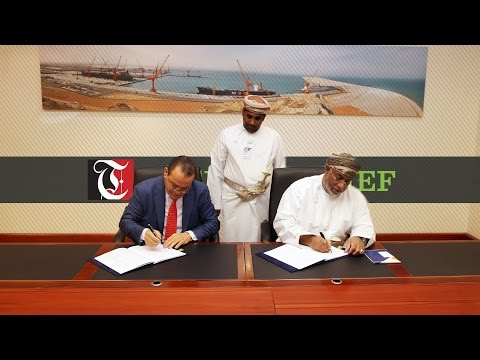 Oman's Duqm authority signs agreement for government berth
