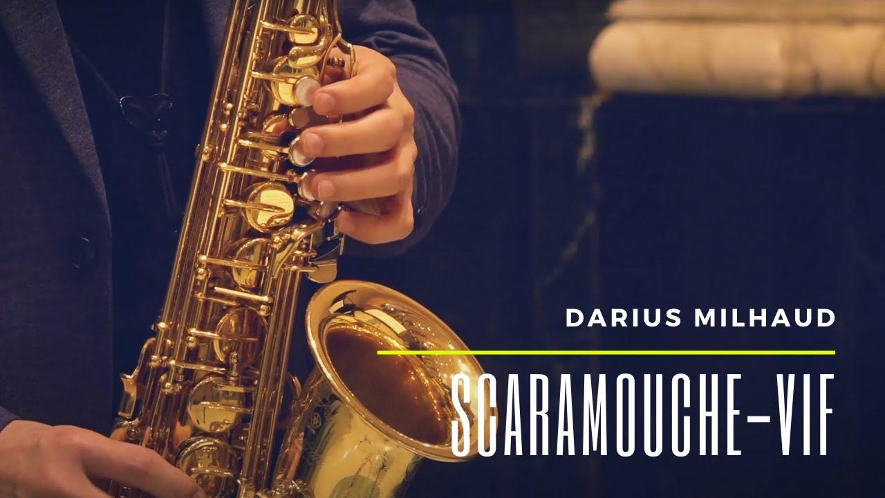 Darius Milhaud Scaramouche - Vif