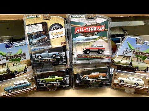 Greenlight Vintage Ad Series 3 | Estate Wagons 5 | Satellite | GMC Jimmy | Nova SS | 1/64 #Diecast