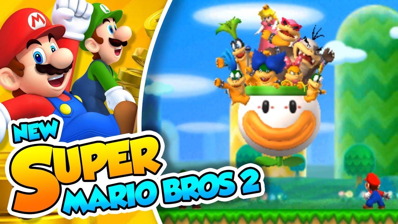 Vuelven los trolleos 01 new super mario bros 2 con - Dibujos de super mario bros ...