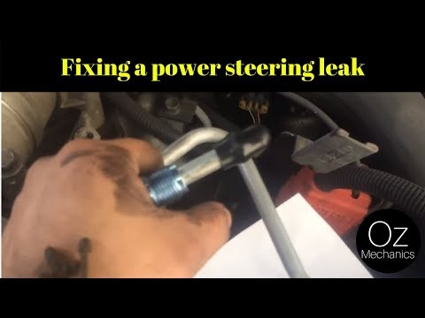How to fix a power steering leak