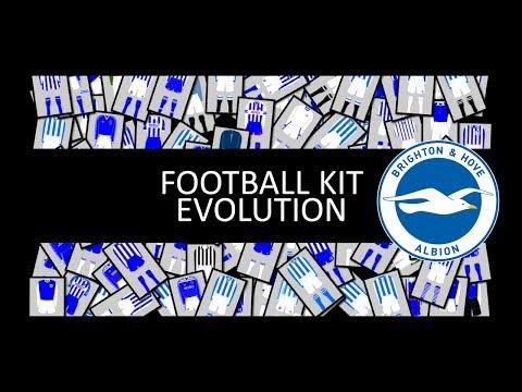 History of Brighton Hove Albion Football Kit