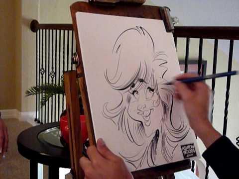 Caricaturist Mac Garcia #2