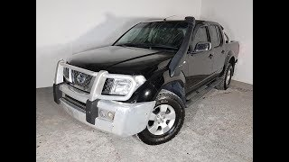 (SOLD) Automatic Turbo Diesel 4×4 Nissan Navara D40 ST-X Dual Cab 2006 Review For Sale