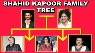 Shahid Kapoor And Ishaan Khattar Entire Family Tree In Detail