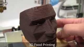 3D Food Printing : Chocolate Face Mask
