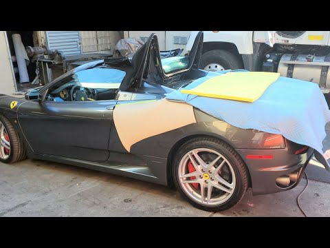 How to Repair Ferrari Convertible Top –  Auto Upholstery.