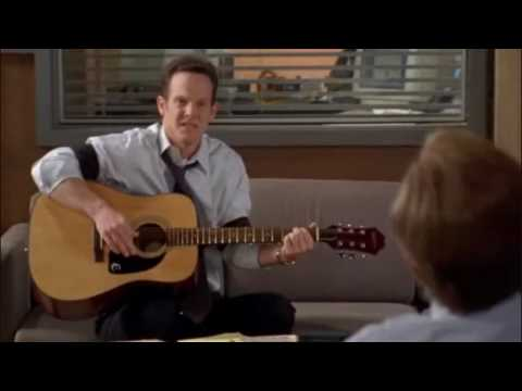 """Randy Disher Plays Tribute song to Monk from series """"Monk"""""""