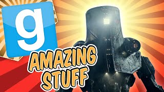 Gmod Amazing Stuff - Mech Battle