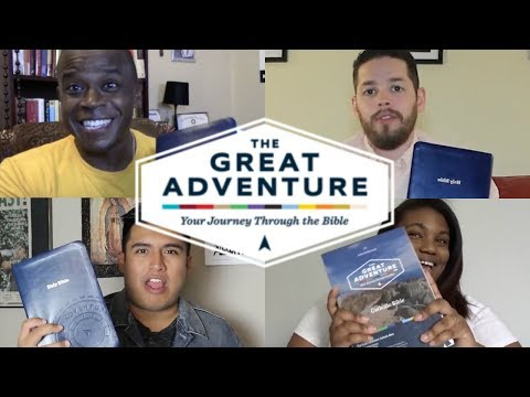Catholics React to The Great Adventure Catholic Bible