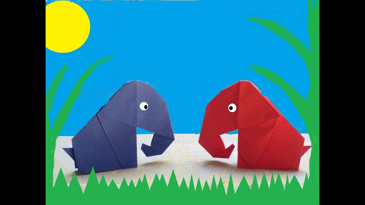 How To Make A Origami Elephant