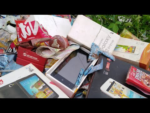 Find a phone in the packaging box trash | Phone restoration from trash